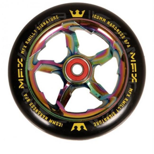 MGP MFX R WIlly Hurricane Scooter Wheel Neo Chrome 120mm