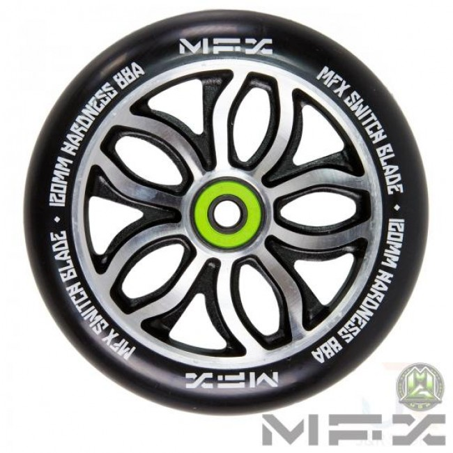 MGP MFX R WIlly Switchblade Scooter Wheel Black 120mm