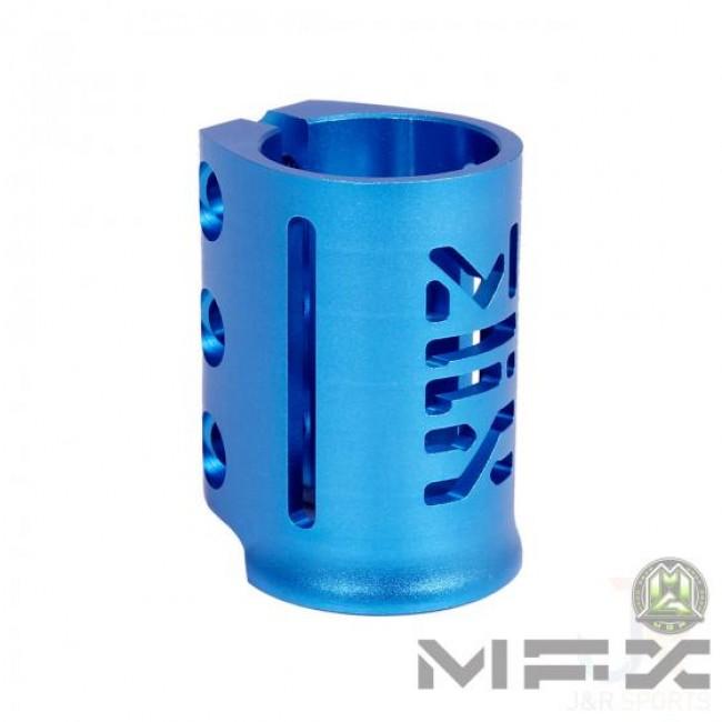 MGP MFX X3 Triple Scooter Clamp Blue