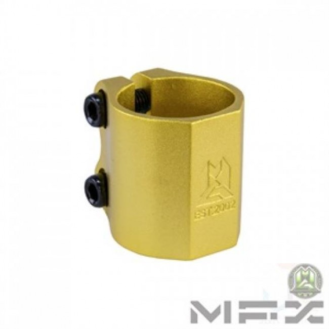 MGP MFX Extreme Double Clamp Gold