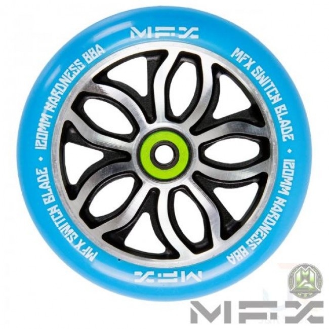 MGP MFX R WIlly Switchblade Scooter Wheel Blue 120mm