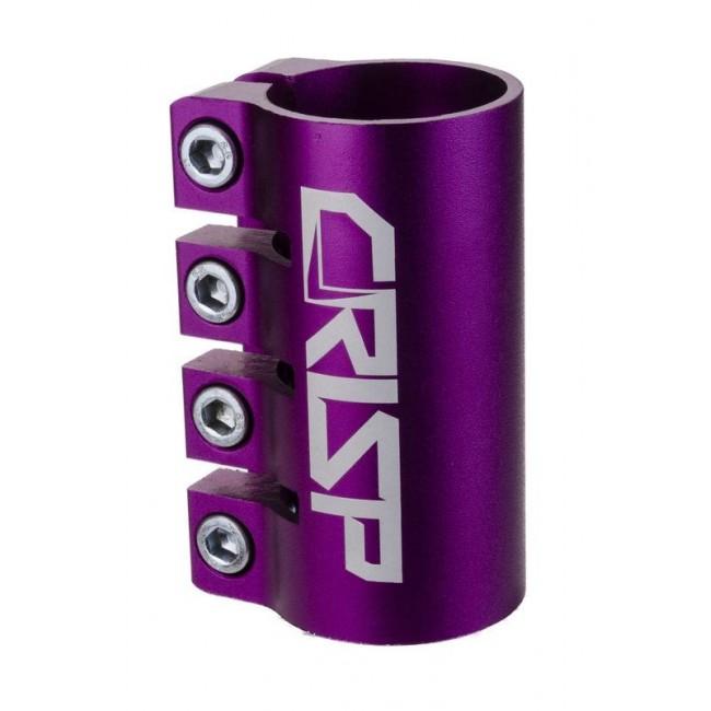Crisp Oversized Scooter Clamp Purple