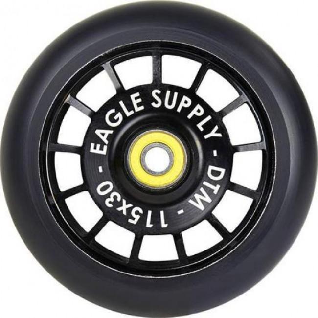 Eagle Radix Hollowtech Scooter Wheel 115mm Black Soft
