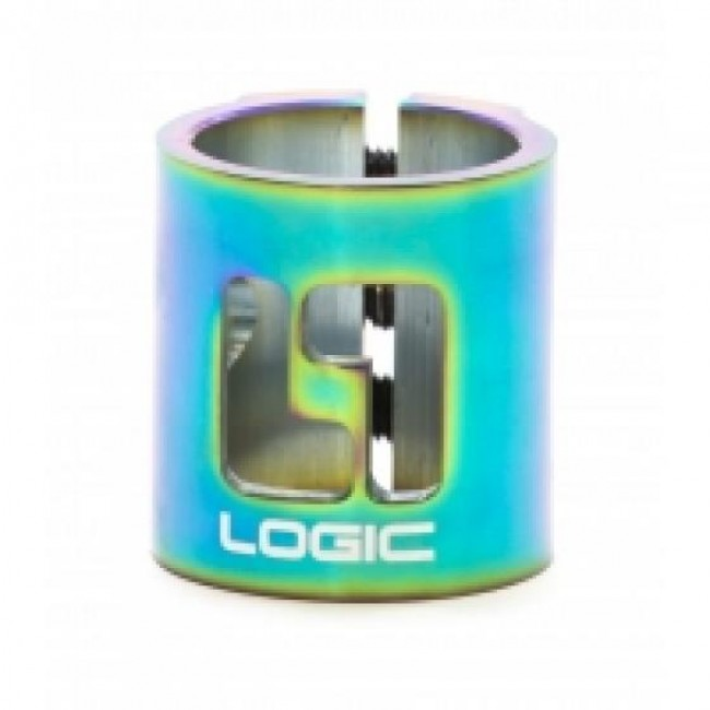 Logic Double HIC Scooter Clamp Neo Chrome