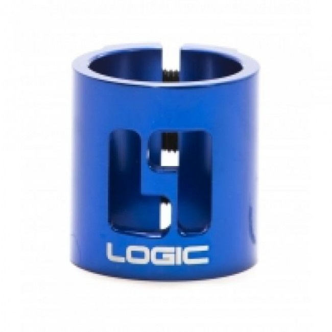 Logic Double HIC Scooter Clamp Blue