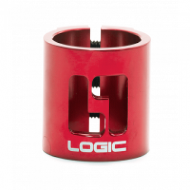 Logic Double HIC Scooter Clamp Red