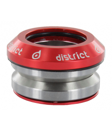 District S Series Integrated Headset Red