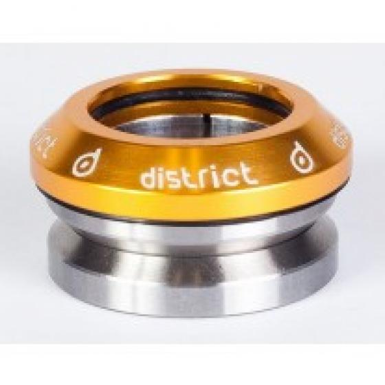 District S Series Integrated Headset Gold
