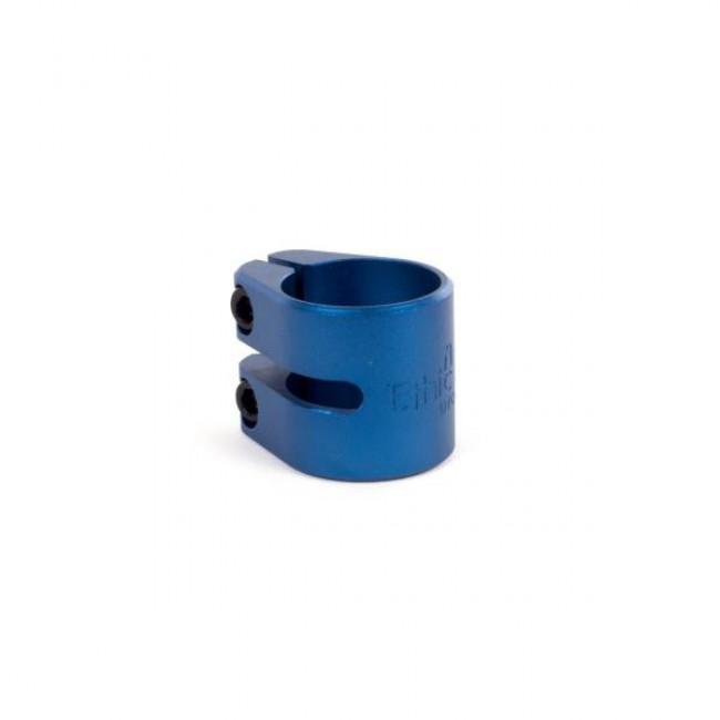 Ethic Aluminium Double Clamp Blue
