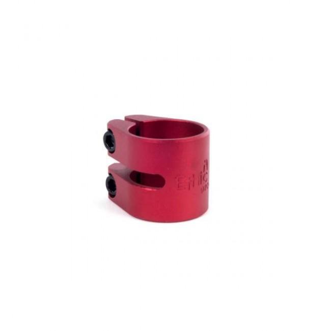 Ethic Aluminium Double Clamp Red