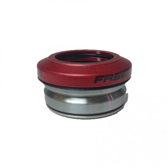 Fasen Integrated Scooter Headset Red