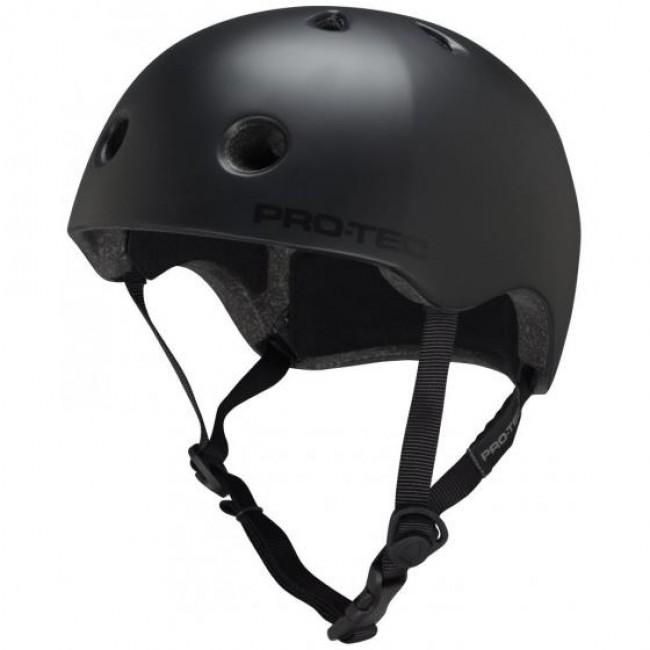 Protec Street Lite Skate Helmet Satin Black S