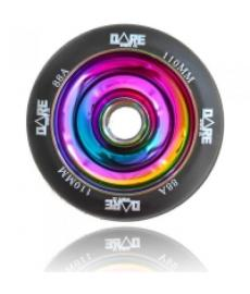 Dare Solid Core Scooter Wheel Neo Chrome 110mm