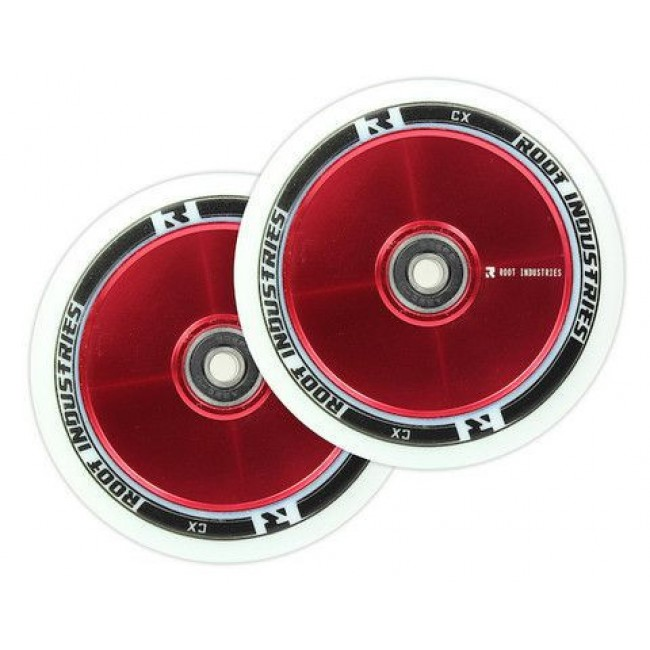 Root Industries Air Wheel White Red 110mm