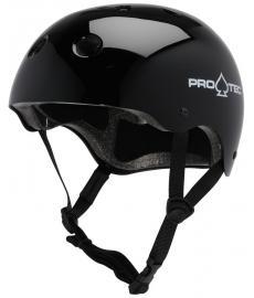 Protec Classic Skate Helmet Gloss Black L