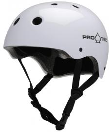 Protec Classic Skate Helmet Gloss White L
