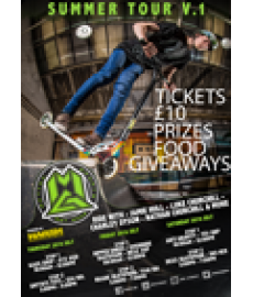 MGP TOUR Event - Override Skatepark 29th July 2016