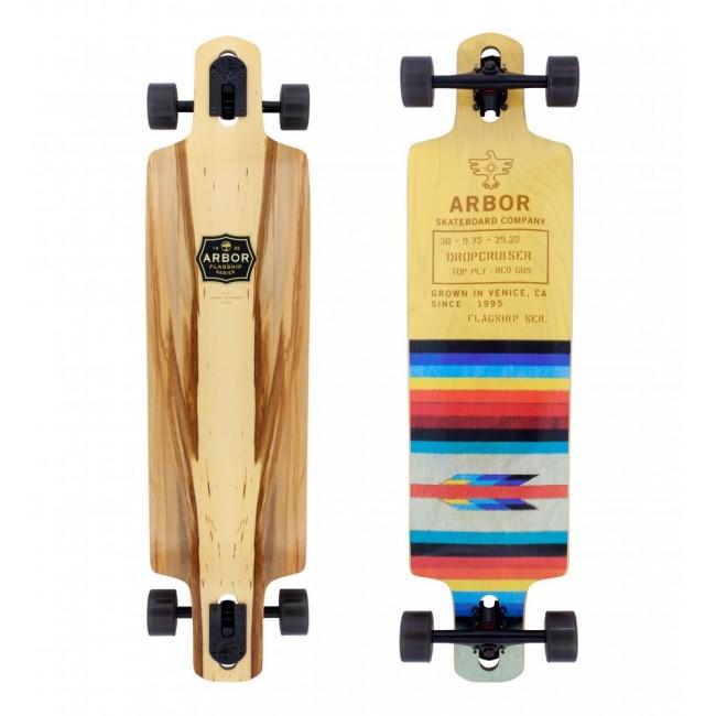 Arbor Flagship Drop Cruiser Skateboard 38