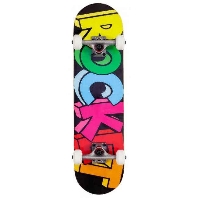Rocket Blocks Mini Complete Skateboard 7.5