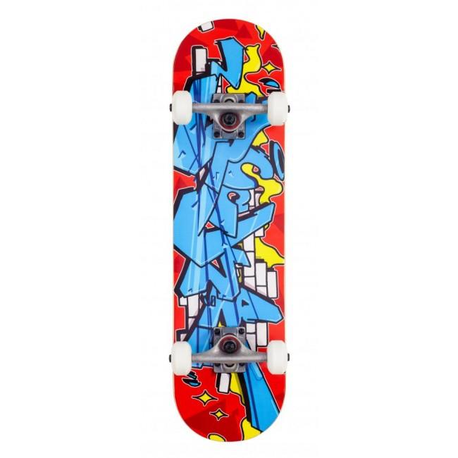 "Rocket Bricks Mini Complete Skateboard 7.375"""