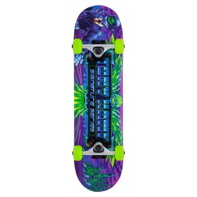 "Tony Hawk 360 Series Cyber Mini Complete Skateboard 7.38"""