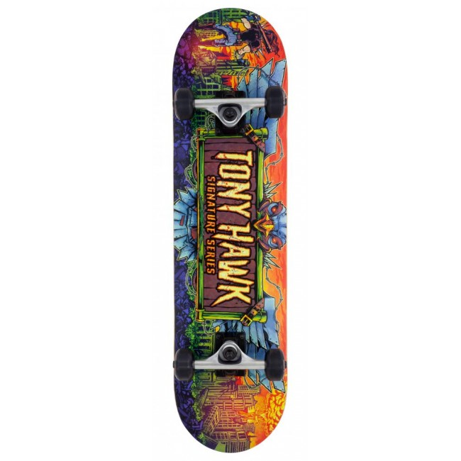 Tony Hawk 360 Series Lava Complete Skateboard 7.75