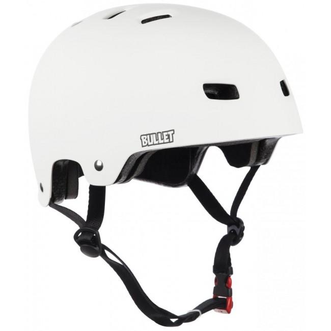 Bullet Deluxe Adult Helmet White