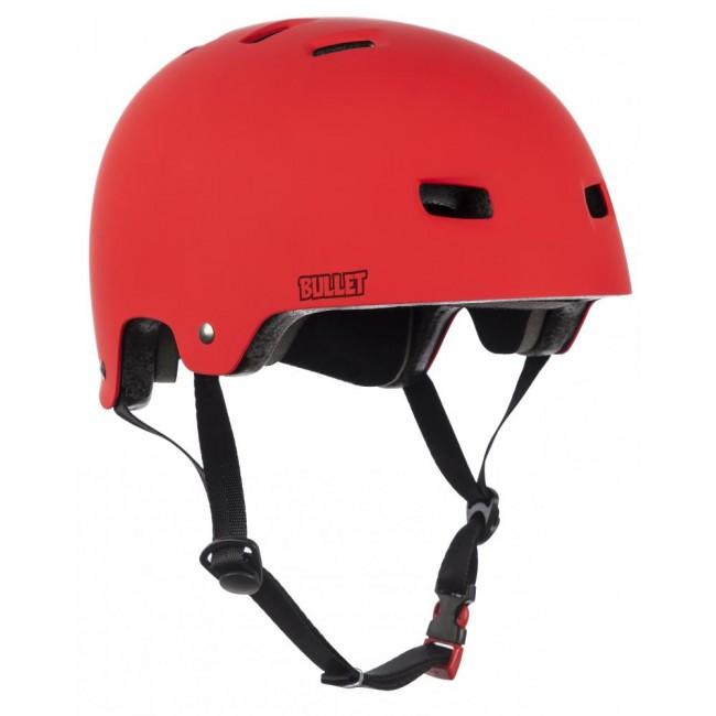 Bullet Deluxe Adult Helmet Red