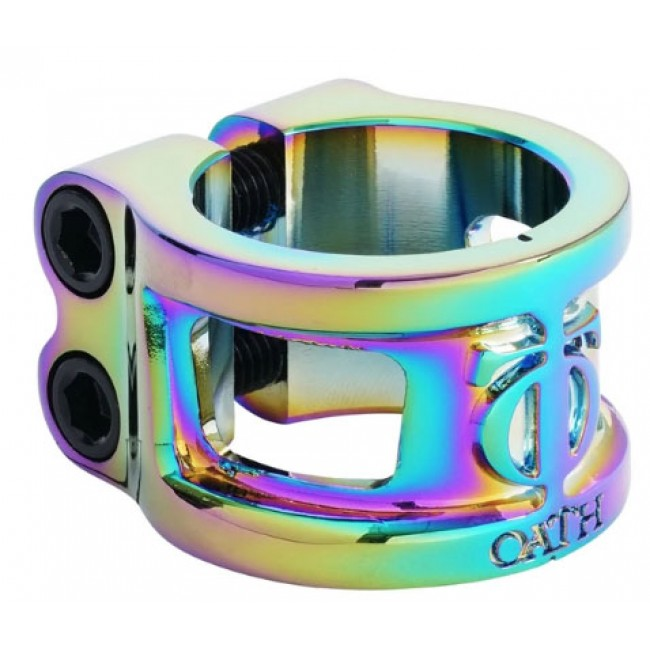 Oath Cage V2 Double Clamp Neo Chrome