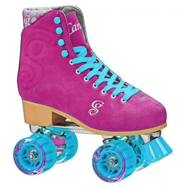 Candi Girl Carlin Roller Skates Berry