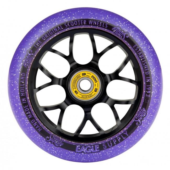 Eagle Standard X6 Core Candy Wheel Black/Purple 110mm