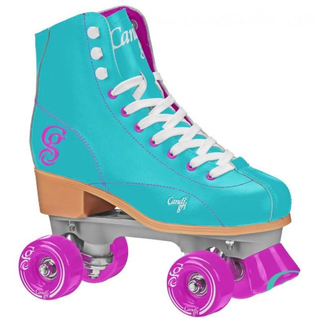 Candi Girl Sabina Roller Skates Mint/Purple