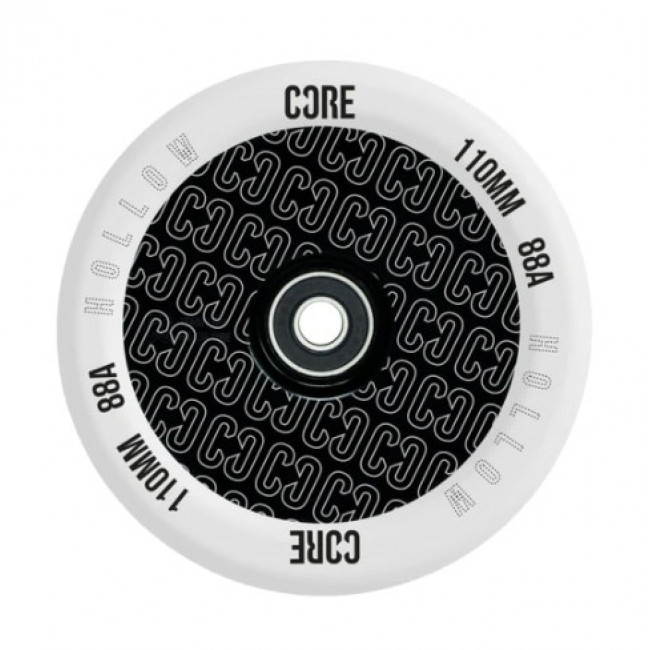 Core Hollow V2 Stunt Scooter Wheel Repeat Clear/Black 110mm