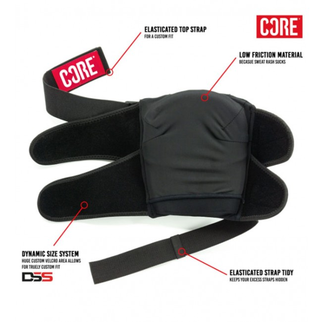 Core Pro Park Knee Pads XS