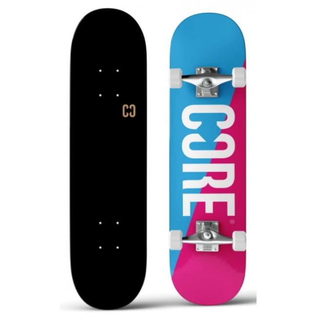 Core Split Complete Skateboard Pink/Blue 7.75