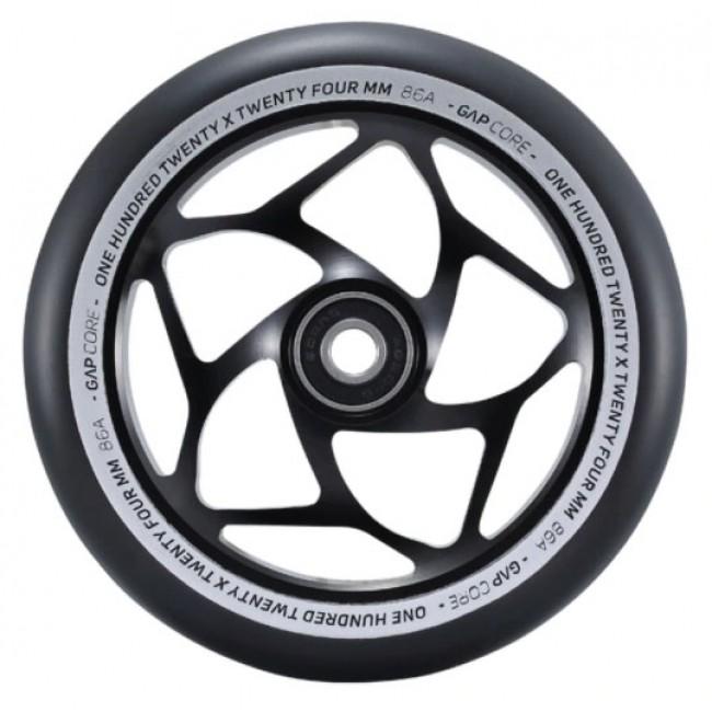Blunt Gap Core Scooter Wheel Black/Black 120mm