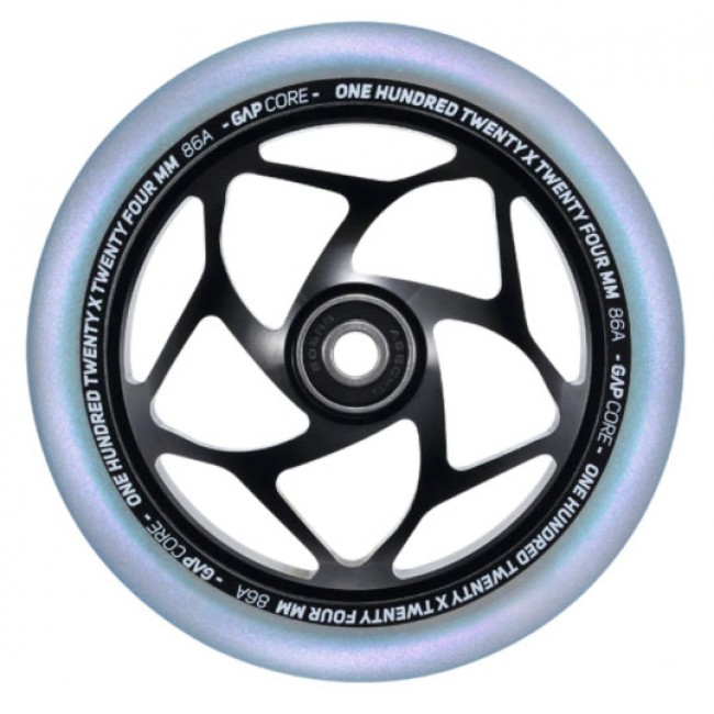 Blunt Gap Core Scooter Wheel Black/Galaxy 120mm