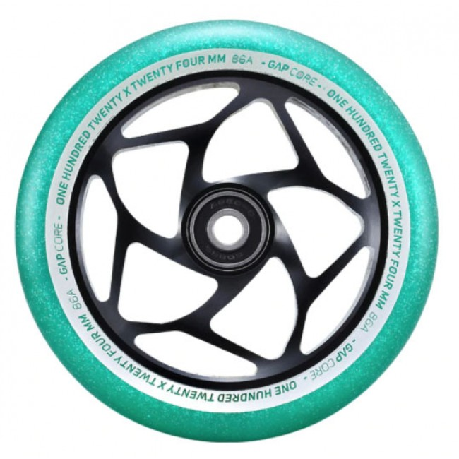 Blunt Gap Core Scooter Wheel Jade/Black 120mm