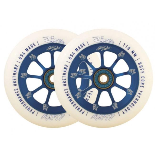 River Rapids Helmeri Pirinen Sig Scooter Wheels 110mm 2 Pack