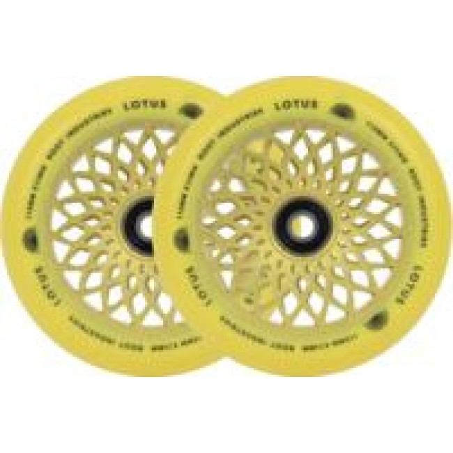 Root Industries Lotus Scooter Wheels Radiant Yellow 110mm