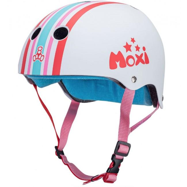Moxi Triple 8 Sweatsaver Helmet Moxi Stripey L/XL