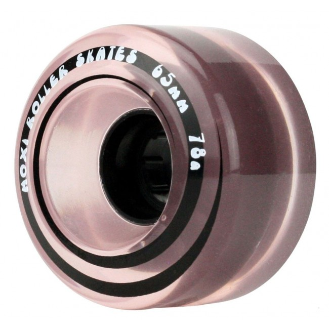 Moxi Outdoor Classic Skate Wheels Pink Frost 65mm/78A