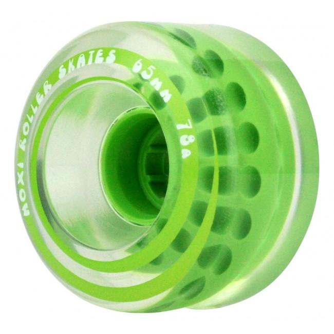 Moxi Outdoor Classic Skate Wheels Honeydew 65mm/78A