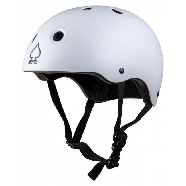 Protec Prime Skate Helmet White