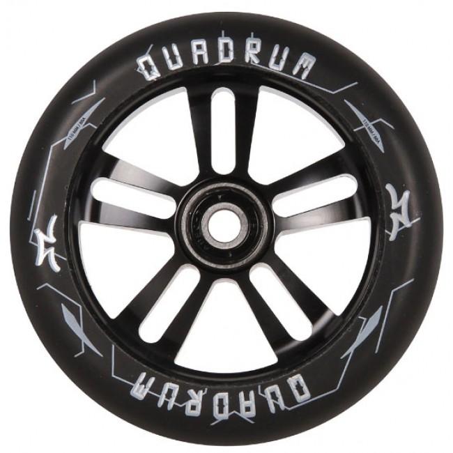 AO Quadrum Pro Scooter Wheel Black 115mm