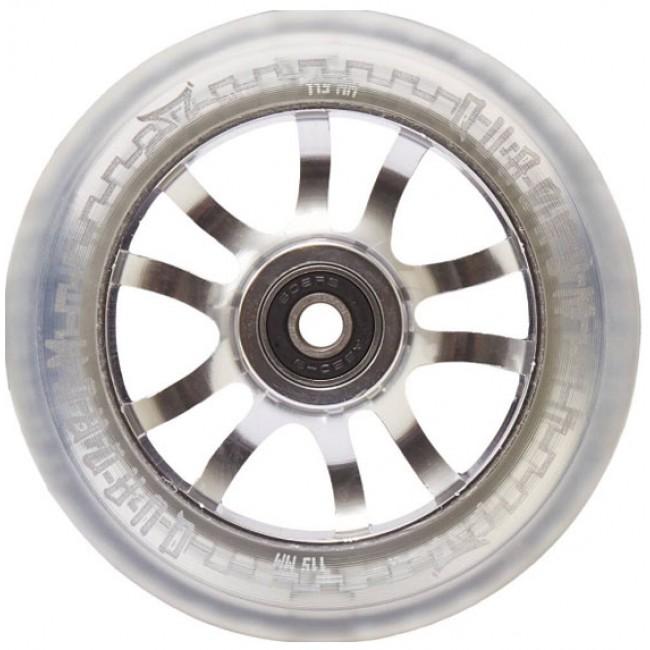 AO Quadrum Pro Scooter Wheel Transparent 115mm