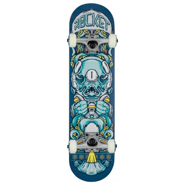 Rocket Alien Pile-Up Complete Skateboard