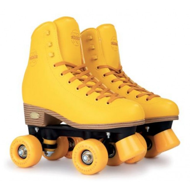 Rookie Classic 78 Quad Roller Skates Yellow