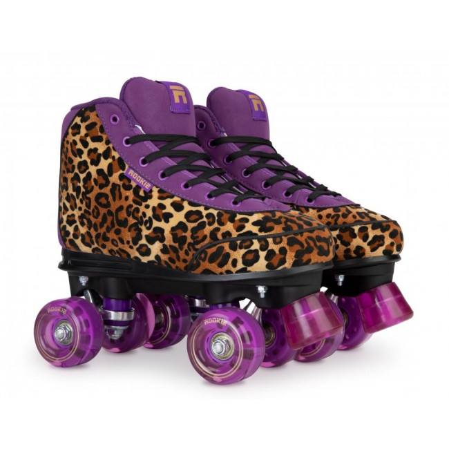 Rookie Harmony Quad Roller Skates Leopard