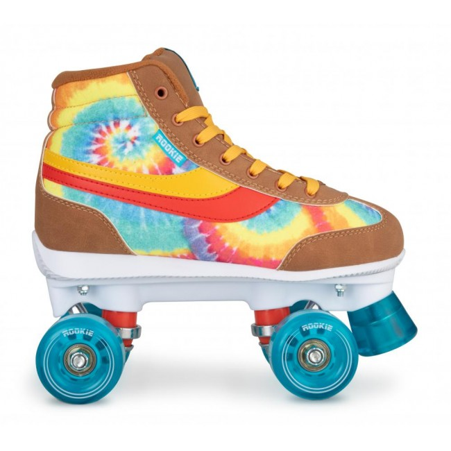 Rookie Legacy Quad Roller Skates Tye Dye